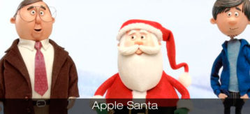 Apple Santa is coming to town